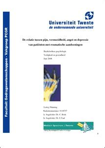 Master Thesis Strategic Management - Student Theses